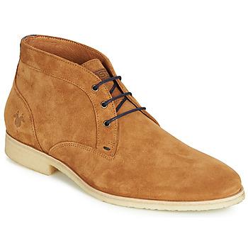 Sapatos Homem Botas baixas Kost CALYPSO 59 Conhaque