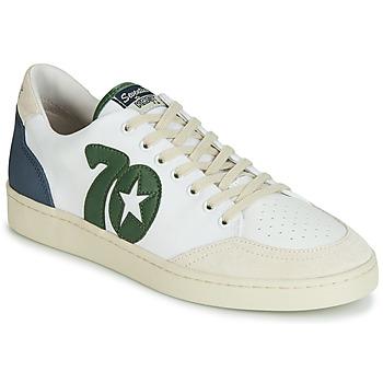 Sapatos Homem Sapatilhas Kost SEVENTIES 14 Cru / Verde / Azul