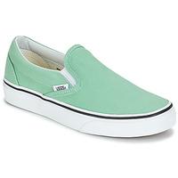 Sapatos Mulher Slip on Vans CLASSIC SLIP-ON Verde