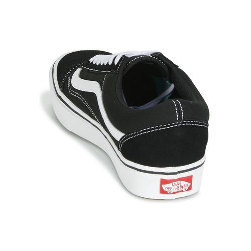 Vans COMFYCUSH OLD SKOOL Preto / Branco - Entrega gratuita- Sapatos Sapatilhas