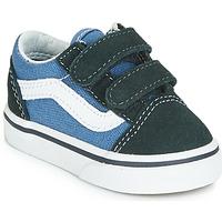 Sapatos Rapaz Sapatilhas Vans OLD SKOOL V Marinho