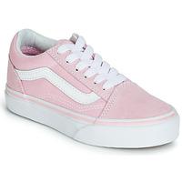 Sapatos Rapariga Sapatilhas Vans OLD SKOOL Rosa