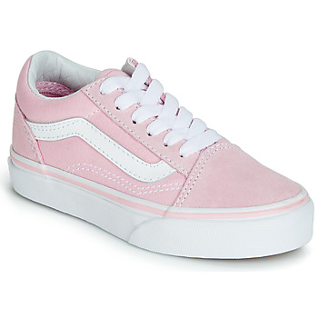 5c6fc294915 Sapatos Rapariga Sapatilhas Vans OLD SKOOL Rosa
