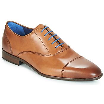 Sapatos Homem Richelieu Azzaro RAELAN Conhaque