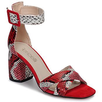 Sapatos Mulher Sandálias Fericelli JEZI Vermelho