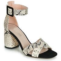 Sapatos Mulher Sandálias Fericelli JEZI Branco / Preto
