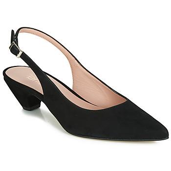 ef46ec429 Sapatos Femininos mulher preto - Entrega gratuita | Spartoo.pt !