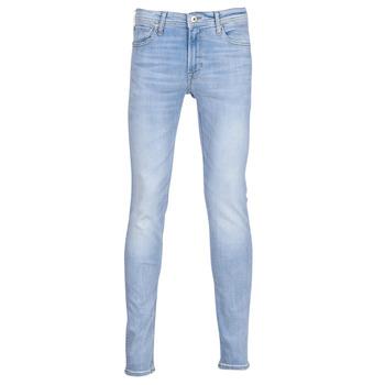 Textil Homem Calças de ganga slim Jack & Jones JJILIAM Azul