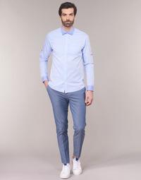 Textil Homem Chinos Scotch & Soda RALSTONO Azul