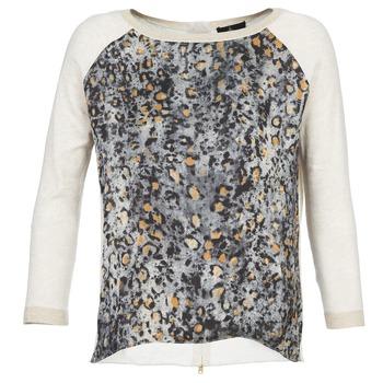 Textil Mulher camisolas One Step TWIST Cru / Cinza