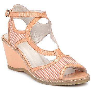 Sapatos Mulher Sandálias Mosquitos HOURA Laranja