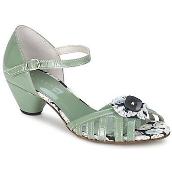 Sapatos Mulher Sandálias Mosquitos AMICALE Verde / água