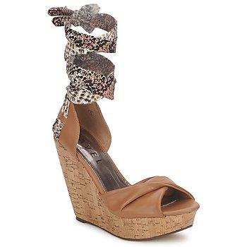 Sapatos Mulher Sandálias Ravel JEMMA Camel