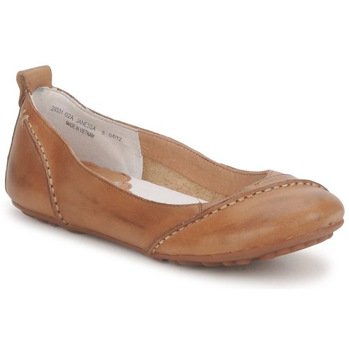 Sapatos Mulher Sabrinas Hush puppies JANESSA Castanho