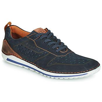 Sapatos Homem Sapatilhas Bugatti TIPPO Azul