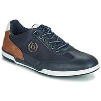 Sapatos Homem Sapatilhas Bugatti TIPPA Azul