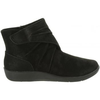 Sapatos Mulher Botins Clarks 26137566 SILLIAN Negro