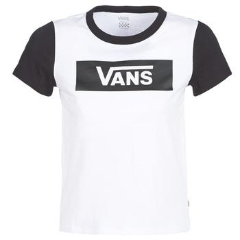 Textil Mulher T-Shirt mangas curtas Vans V TANGLE RANGE RINGER Branco