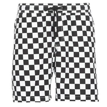 Textil Homem Shorts / Bermudas Vans RANGE SHORT 18 Preto / Branco