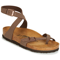 Sapatos Mulher Sandálias Birkenstock YARA Castanho
