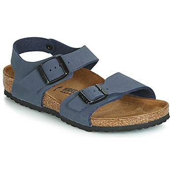 Sapatos Rapaz Sandálias Birkenstock NEW YORK Navy