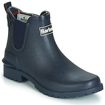 Sapatos Mulher Botas de borracha Barbour WILTON Azul