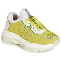 Sapatos Mulher Sapatilhas Bronx BAISLEY Amarelo
