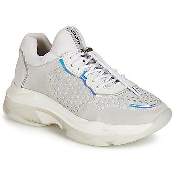 Sapatos Mulher Sapatilhas Bronx BAISLEY Cinza