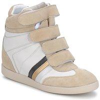 Sapatos Mulher Sapatilhas de cano-alto Serafini MANATHAN SCRATCH Branco-bege-azul