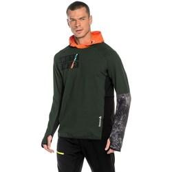 Textil Homem Sweats Reebok Sport DT Stretch Oth Z Verde,Cor de laranja