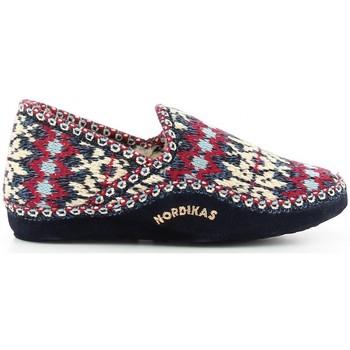 Sapatos Mulher Chinelos Nordikas 2000 bleu