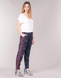 Textil Mulher Calças finas / Sarouels Kaporal BABY Marinho / Multicolor