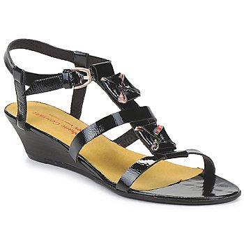 Sapatos Mulher Sandálias Stephane Gontard MALIBU Preto