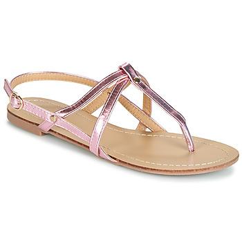 Sapatos Mulher Sandálias Moony Mood JEKERINE Rosa / Matal