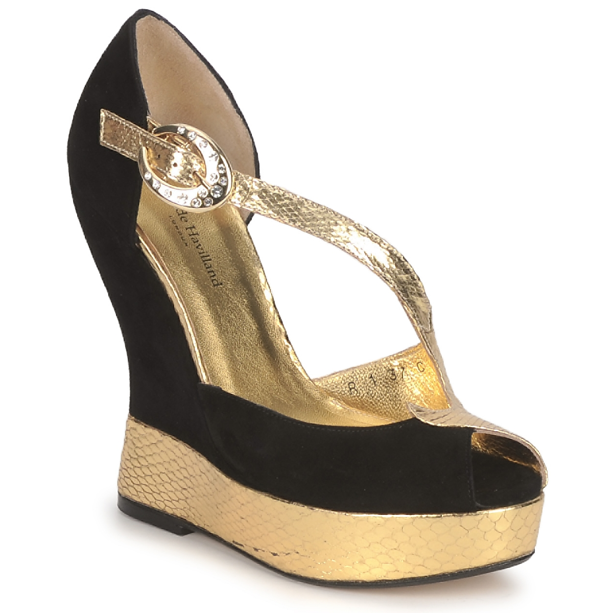 Terry de Havilland PENNY Preto-dourado