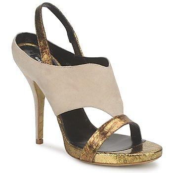 Sapatos Mulher Sandálias Gaspard Yurkievich T4 VAR8 Bege / Dourado