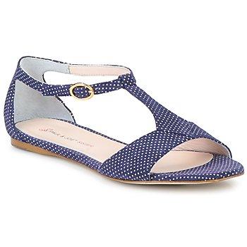 Sapatos Mulher Sandálias Paul & Joe Sister PERRY Marinho / Branco