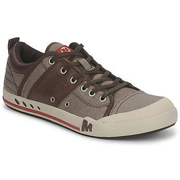 Sapatos Homem Sapatilhas Merrell RANT Castanho