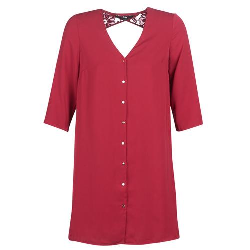 Textil Mulher Vestidos curtos Vero Moda VMRICKY Bordô