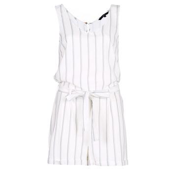 Textil Mulher Macacões/ Jardineiras Vero Moda VMANNA Branco / Azul
