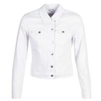 Textil Mulher casacos de ganga Vero Moda VMHOT SOYA Branco