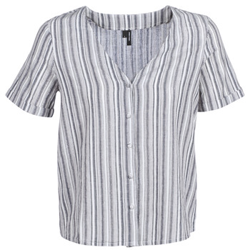 Textil Mulher Tops / Blusas Vero Moda VMESTHER Marinho / Branco