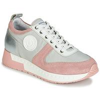 Sapatos Mulher Sapatilhas Pataugas TESSA Cinza / Rosa