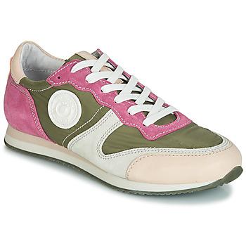 Sapatos Mulher Sapatilhas Pataugas IDOL/MIX Cáqui / Violeta / Bege