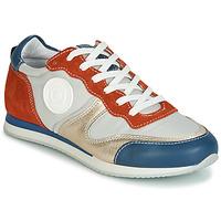 Sapatos Mulher Sapatilhas Pataugas IDOL/MIX Laranja / Bege / Azul