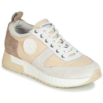 Sapatos Mulher Sapatilhas Pataugas TESSA Bege / Cinza
