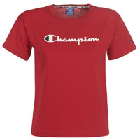 Textil Mulher T-Shirt mangas curtas Champion 111393-RIR Bordô
