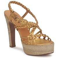 Sapatos Mulher Sandálias Michel Perry 12716 Ouro