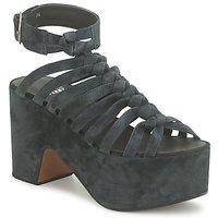 Sapatos Mulher Sandálias Michel Perry 12676 Escuro