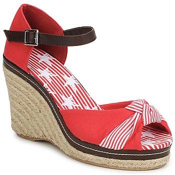 Sapatos Mulher Sandálias StylistClick PATTY Vermelho